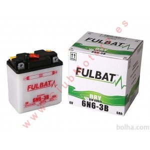 Batería Fulbat 6N6-3B