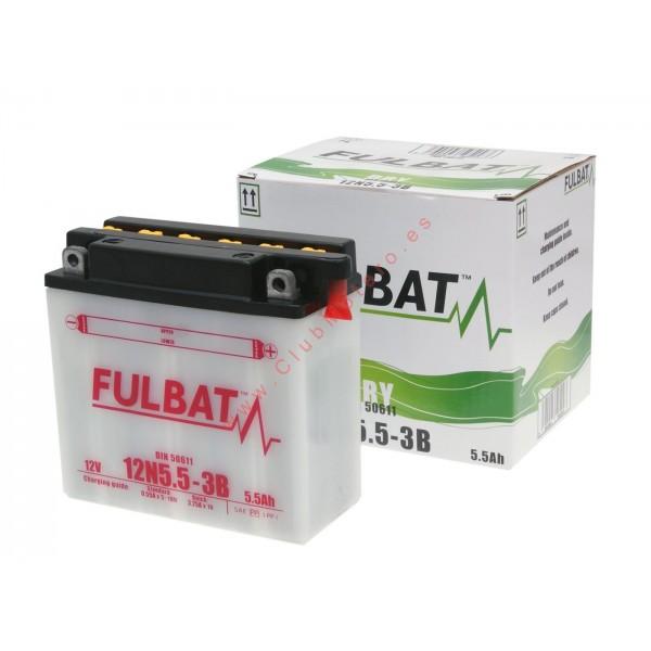 Batería Fulbat 12N5.5-3B