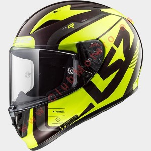 Casco LS2 ARROW C EVO STING Wineberry H-V Amarillo