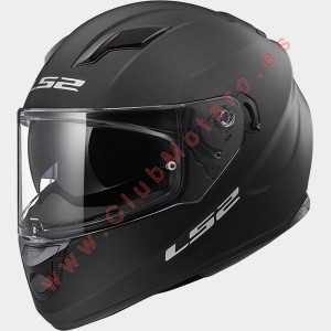Casco LS2 STREAM EVO SOLIDO MATE NEGRO