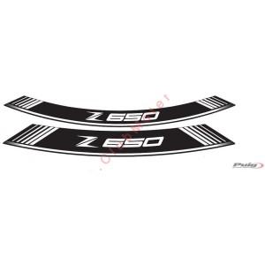 Tiras en arco especiales para llantas Puig Kawasaki Z650