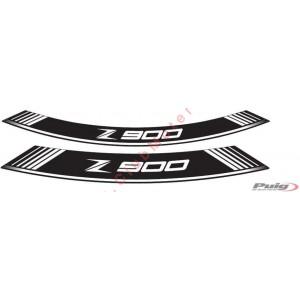 Tiras en arco especiales para llantas Puig Kawasaki Z900