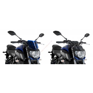 Cúpula Puig Naked New Generation Sport Yamaha MT-07 2018