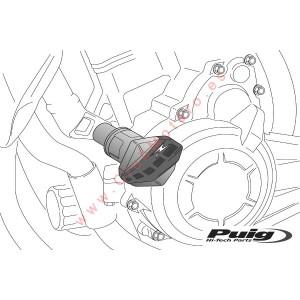 Protectores de motor R12 PUIG Honda CBR500R ( 2016 - 2017 )