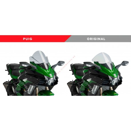 Cupula racing Puig Kawasaki Ninja H2SX 2018