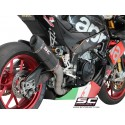 Escape SC Project Racing Oval para Aprilia RSV4 2015 - 2016 RF - RR