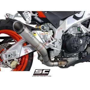 Escape SC Project S1 para Aprilia Tuono V4 ( 2015 - 2016 ) - FACTORY - RR