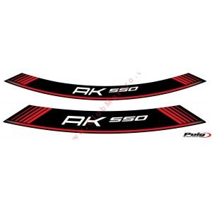 Tiras en arco especiales Puig Kymco AK 550