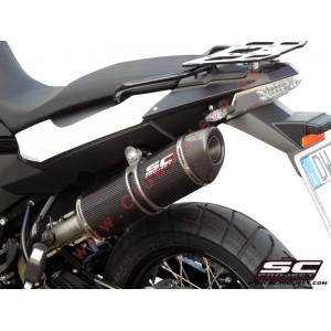 Escape SC Project Oval para BMW F 650 GS (2008 - 2012)