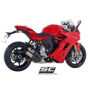 Escape SC Project Twin CR-T para DUCATI SUPERSPORT 939 (2017 - 2019) - S