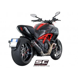 Escape SC Project Oval para DUCATI DIAVEL (2011 - 2017)