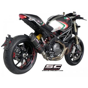 Escape SC Project Oval para DUCATI MONSTER 1100 EVO (2011 - 2013)