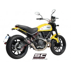 Escape SC Project CR-T para DUCATI SCRAMBLER 800 (2015 - 2016)