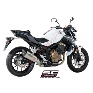 Escape SC Project SC1-R para HONDA CBR 500 R (2017-2018)