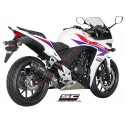 Escape SC Project Oval para HONDA CBR 500 R (2012 - 2016)