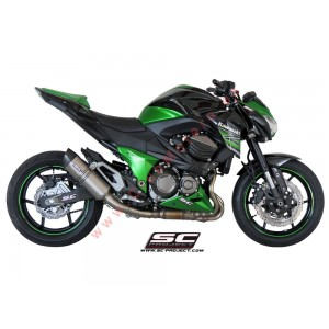 Escape SC Project Oval para KAWASAKI Z 800 e version (2012 - 2016)