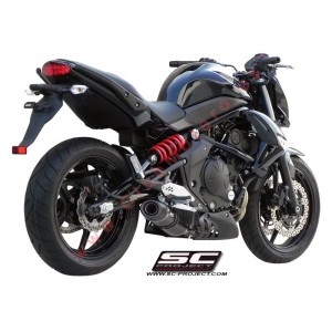 Escape SC Project Oval para KAWASAKI ER6N - ER6F (2005 - 2011)
