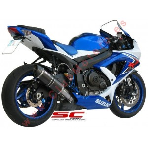 Escape SC Project Oval para SUZUKI GSX-R 600 - GSX-R 750 (2008 - 2010)