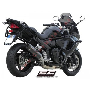 Escape SC Project Oval para SUZUKI GSX 1250F TRAVELLER