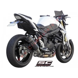 Escape SC Project Oval para SUZUKI GSR 750 (2010 - 2017)