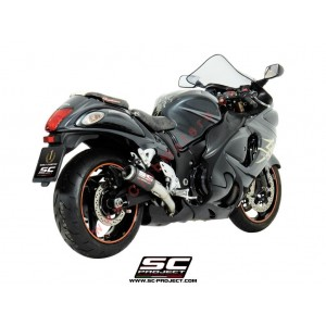 Escapes SC Project (PAR) CR-T para SUZUKI GSX-R 1300 Hayabusa