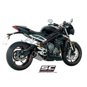 Escape SC Project SC1-R para TRIUMPH STREET TRIPLE 765 (2017 - 2018) - S - R - RS