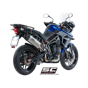 Escape SC Project Adventure para TRIUMPH TIGER 800 (2017 - 2018) - XR - XC - XCa - XCx - XRx - XRT