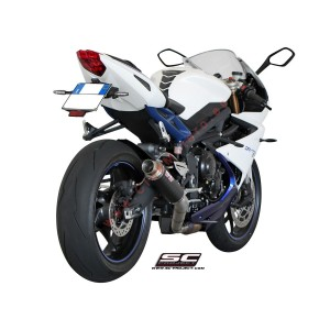 Escape SC Project GP-M2 para TRIUMPH DAYTONA 675 (2013 - 2016)
