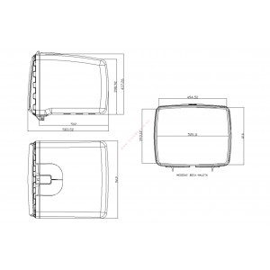 Baul Mega Box con cerradura Puig UNIVERSAL