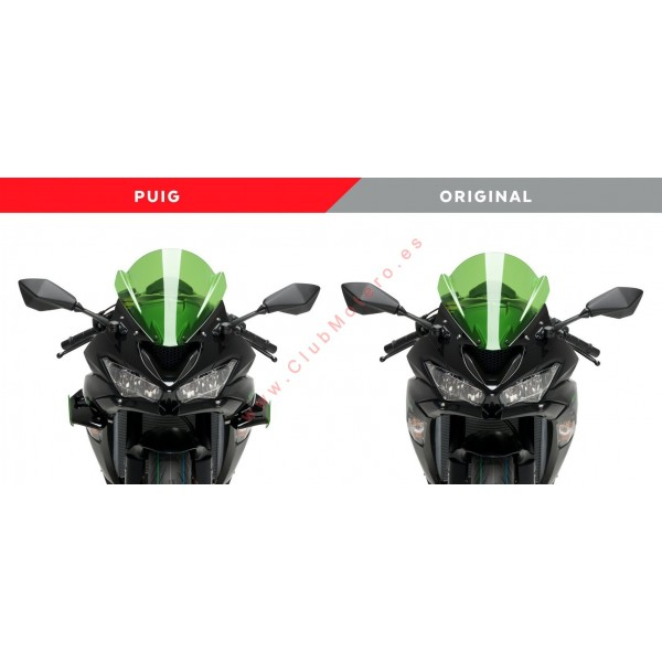 Alerón lateral Downforce PUIG KAWASAKI ZX-6R 636 2019