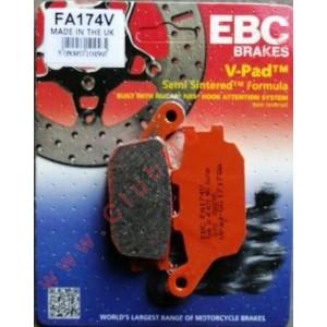 Pastilllas de freno EBC FA174V