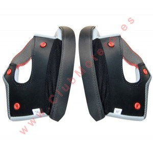 Almohadillas laterales para cascos Reevu MSX1