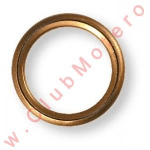 Arandela de cobre para tapón de carter 18 mm