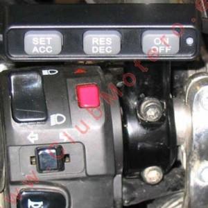 Control de Crucero McCruise para Aprilia Caponord ETV1000 Rally-Raid