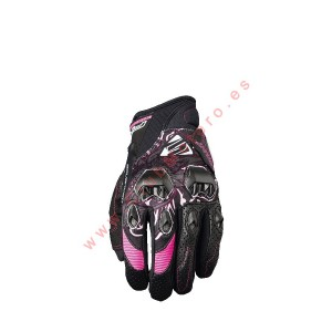 Guantes Five Stunt EVO Woman Rosa