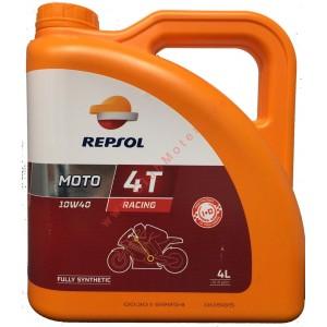 Aceite Motor 4T Repsol Sintetico Moto Racing 10W/40 4 litros