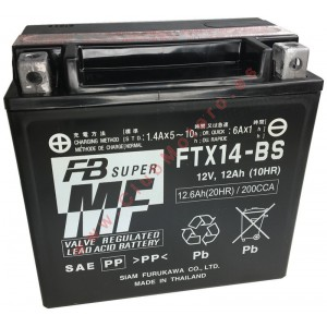 Batería Furukawa FTX14-BS...