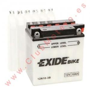 Batería Exide 12N10-3B