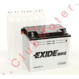 Batería Exide Y60-N24L-A