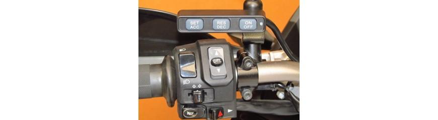 Control de crucero para moto integrado en la moto