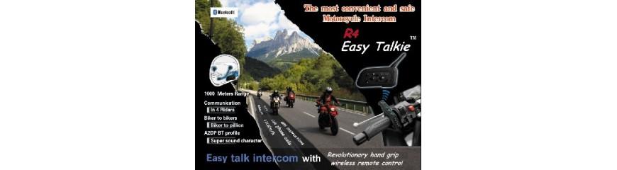 Intercomunicadores para casco de moto